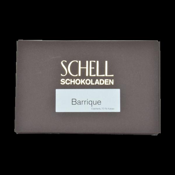 Barrique Edelherb Schokolade, Schell