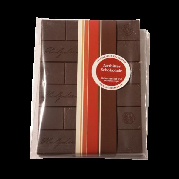 Holzderber Schokolade Zartbitter