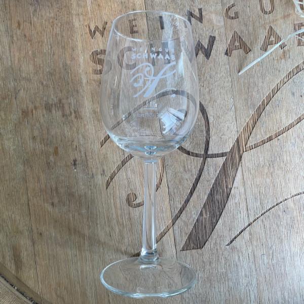Weinglas einzeln