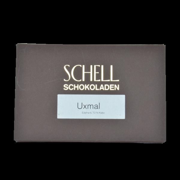 Uxmal Edelherb Schokolade, Schell