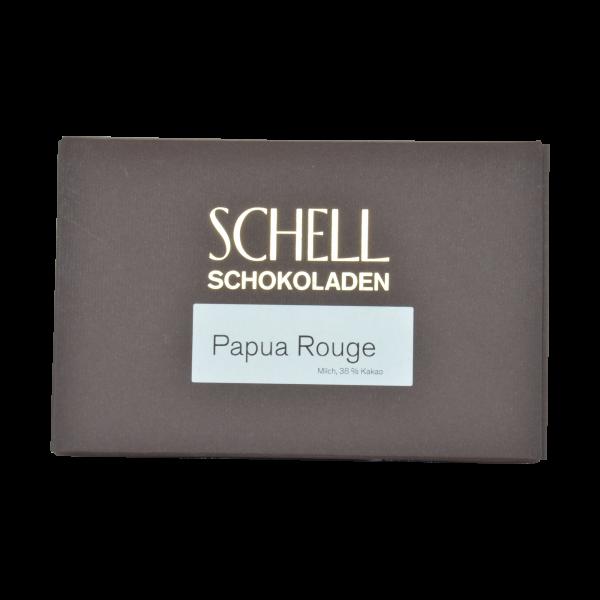 Papua Rouge Schokolade, Schell